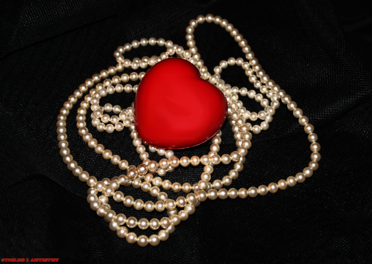 Heart of Pearls by Tigles1Artistry