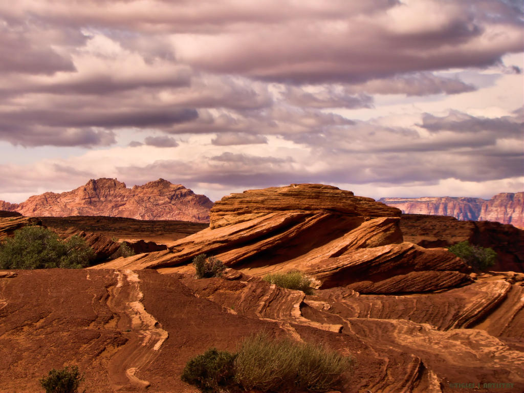 Sacred Hopi Land and Tribute by Tigles1Artistry