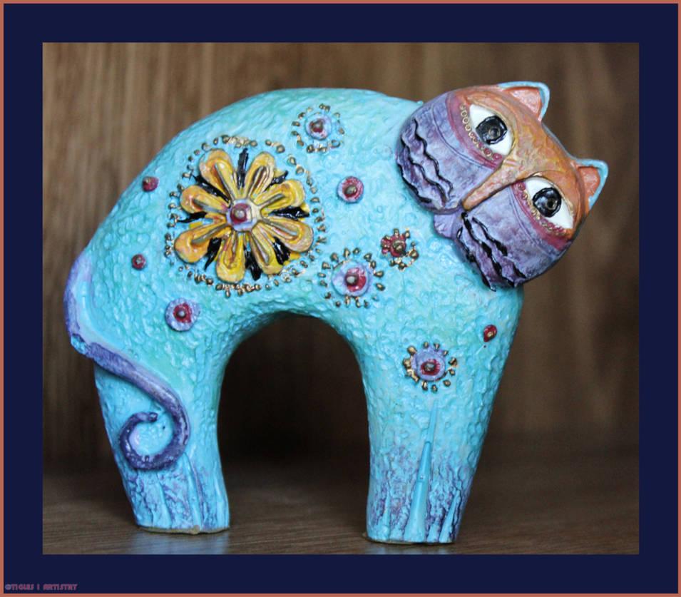 Cat-O-log-O-Round.... by Tigles1Artistry