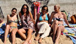 The Beach Babes...LOL by Tigles1Artistry