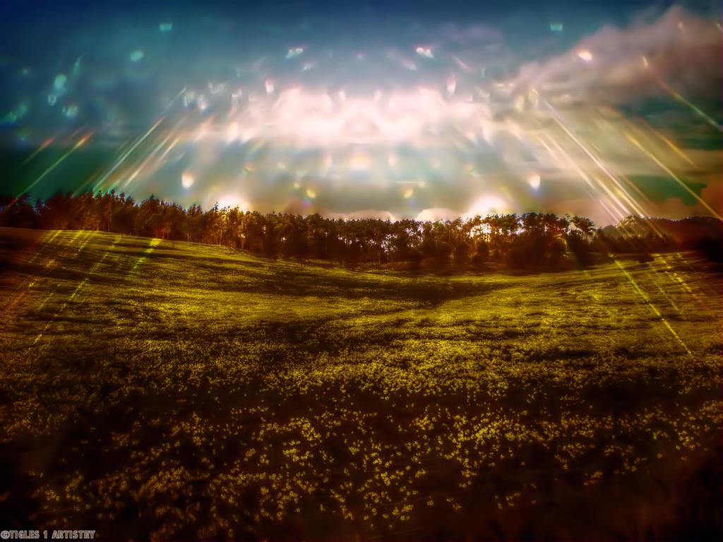 Cosmic Light... by Tigles1Artistry