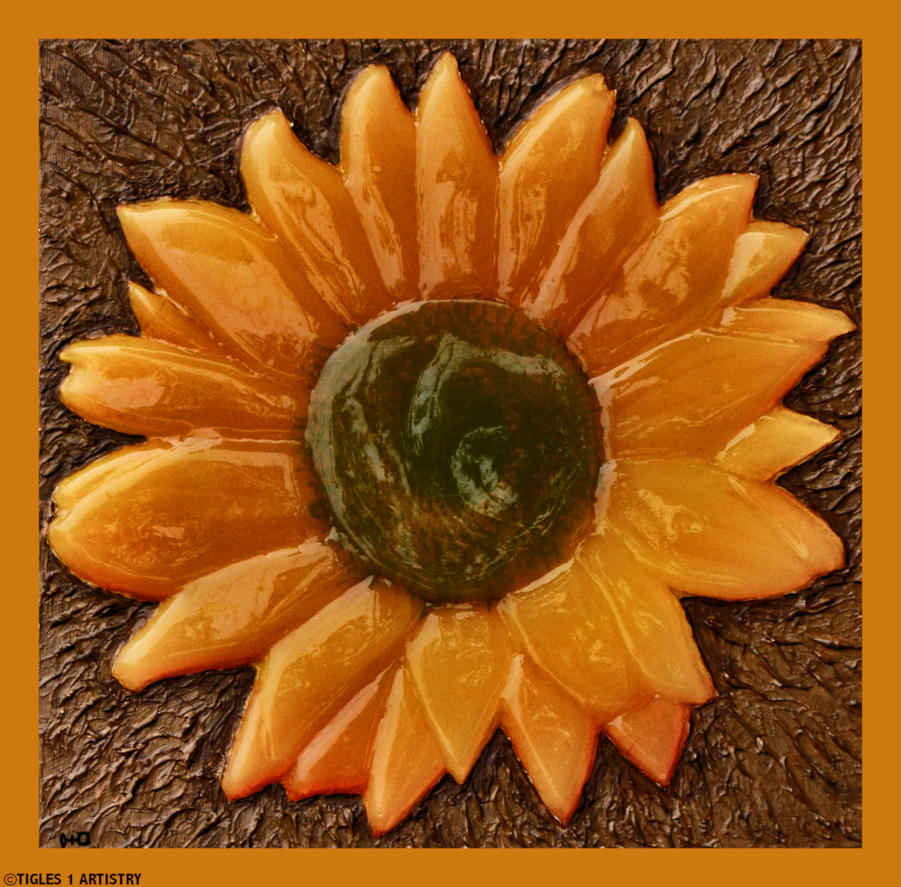A Special Sunflower by Tigles1Artistry