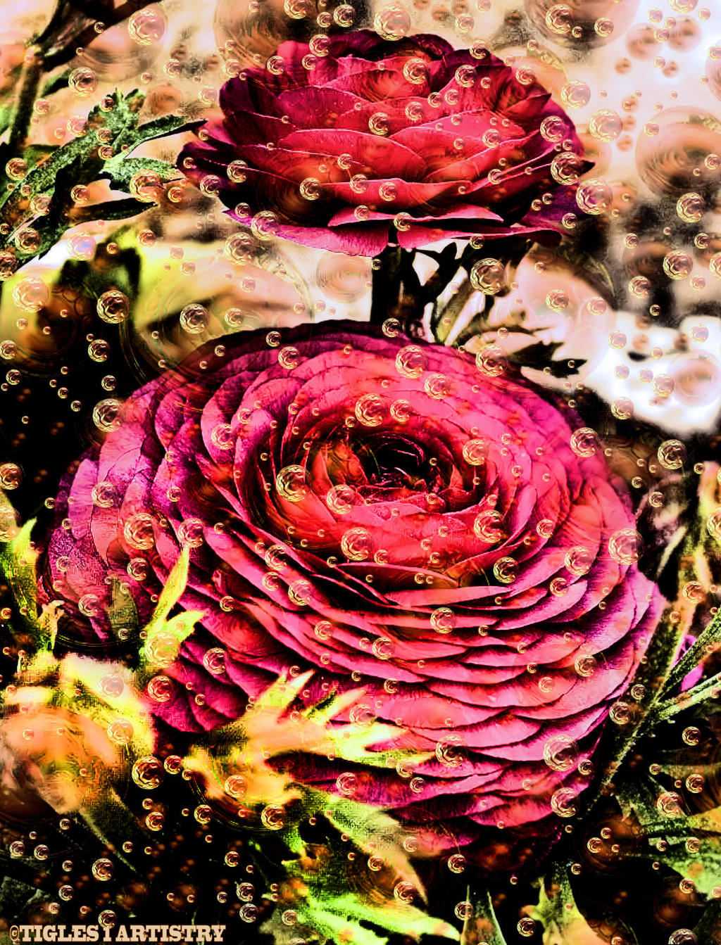 Flowery Dream World by Tigles1Artistry
