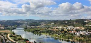 Coimbra By The Mondego River