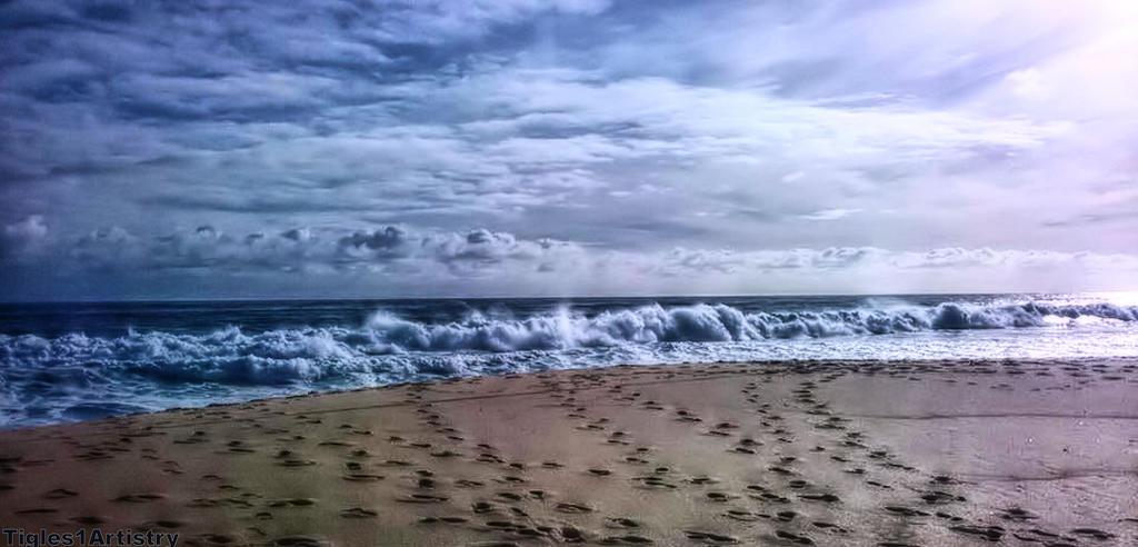A Winter Sea... by Tigles1Artistry