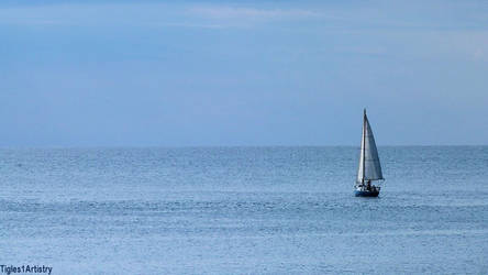 Sailing in Blue... by Tigles1Artistry