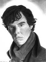 Sherlock - Benedict Cumberbatch by cfischer83