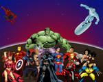 Superheroes: Marvel DC Crossover