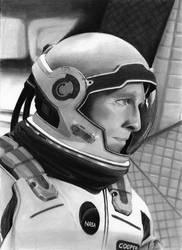 Cooper. Interstellar. Matthew McConaughey by cfischer83
