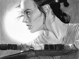 Rey ~ Star Wars ~ Daisy Ridley by cfischer83
