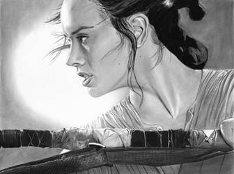 Rey ~ Star Wars ~ Daisy Ridley by cfischer83