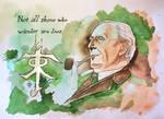 J. R. R. Tolkien by cfischer83
