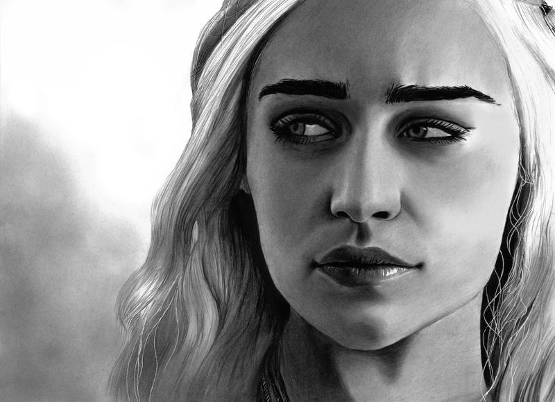 Emilia Clarke Daenerys by cfischer83
