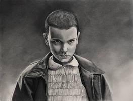 Eleven ~ Stranger Things by cfischer83