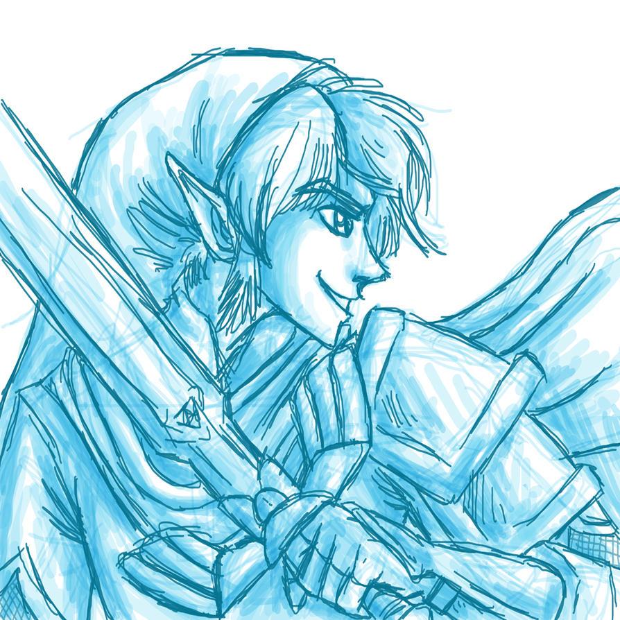 Hyrule Warrior Link by fishyhylian