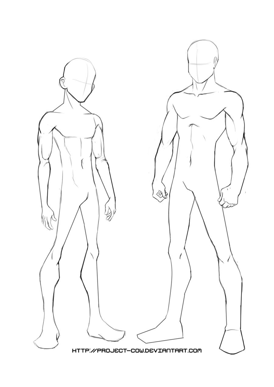 Yj Body Template By Project Cow On Deviantart