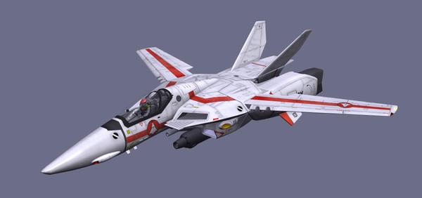 SDF Macross VF-1J by Sawamura76