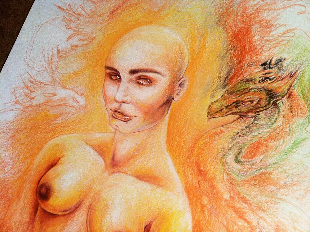 Daenerys The Unburnt (WIP) by ardentfem