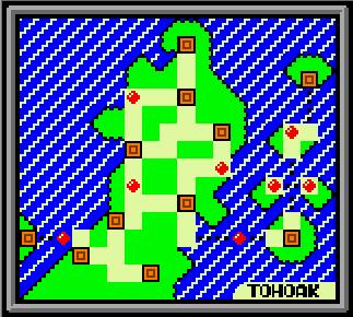 Tohoak Map (GSC Demake) by NiallHoenn
