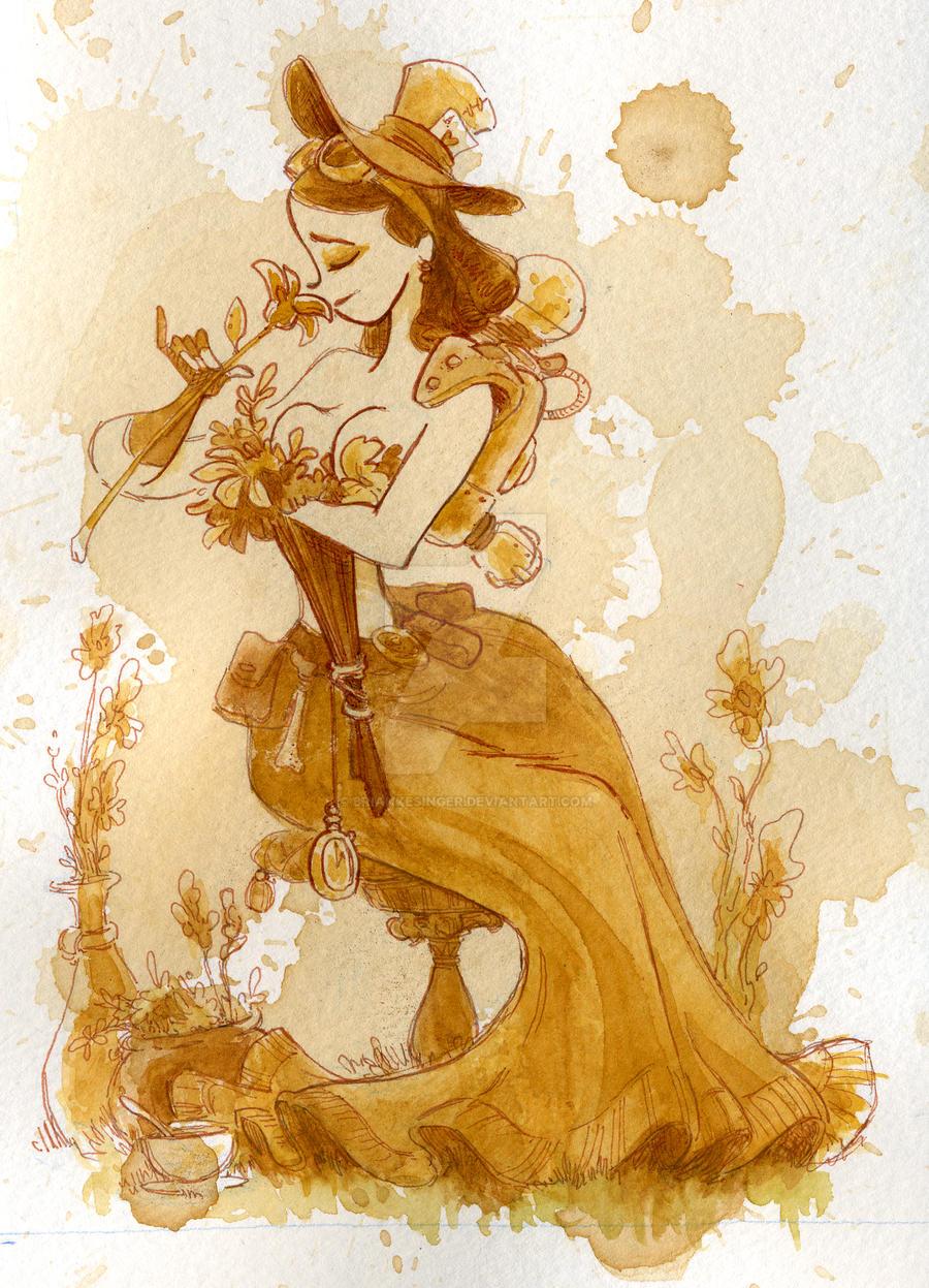 flower girl by BrianKesinger