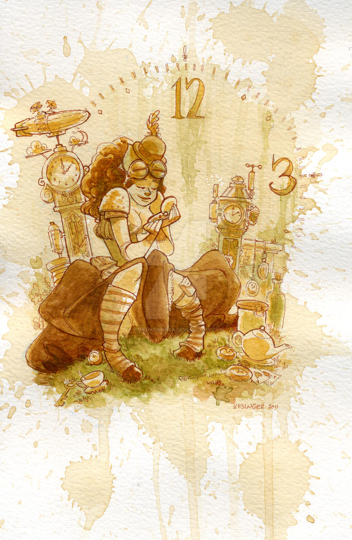 clockwork by BrianKesinger