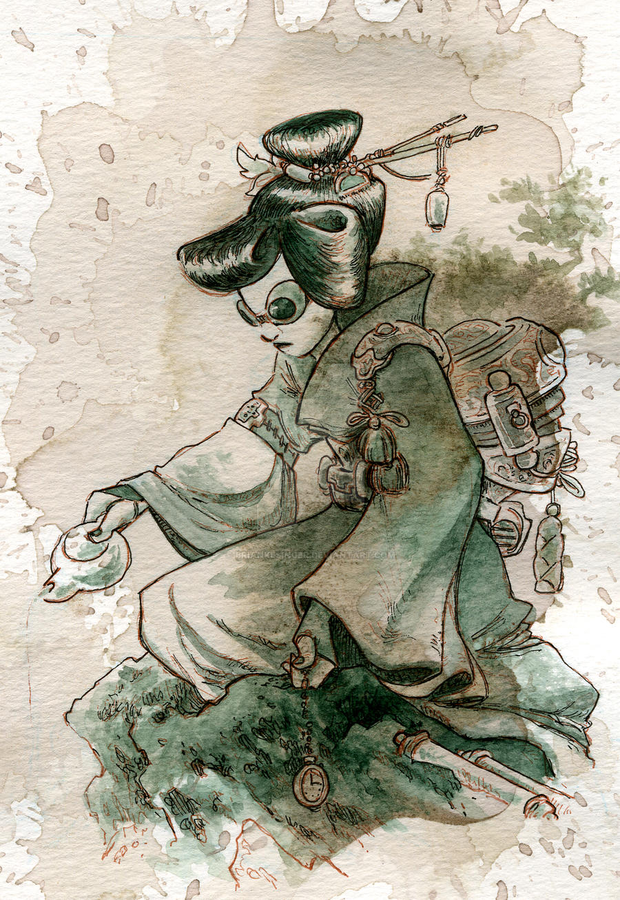 Green tea by BrianKesinger