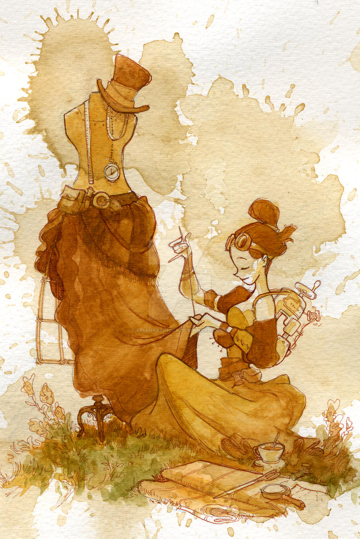 seamstress by BrianKesinger