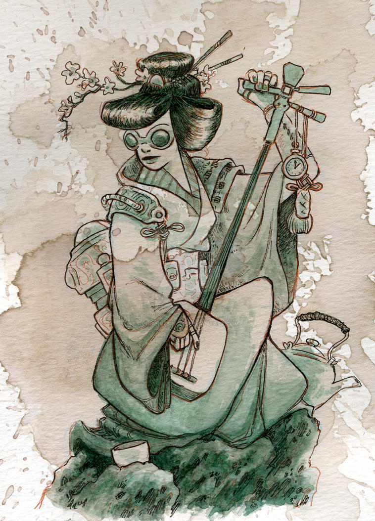 samisen by BrianKesinger