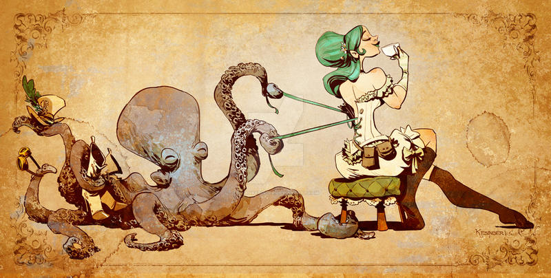 lacing up by BrianKesinger