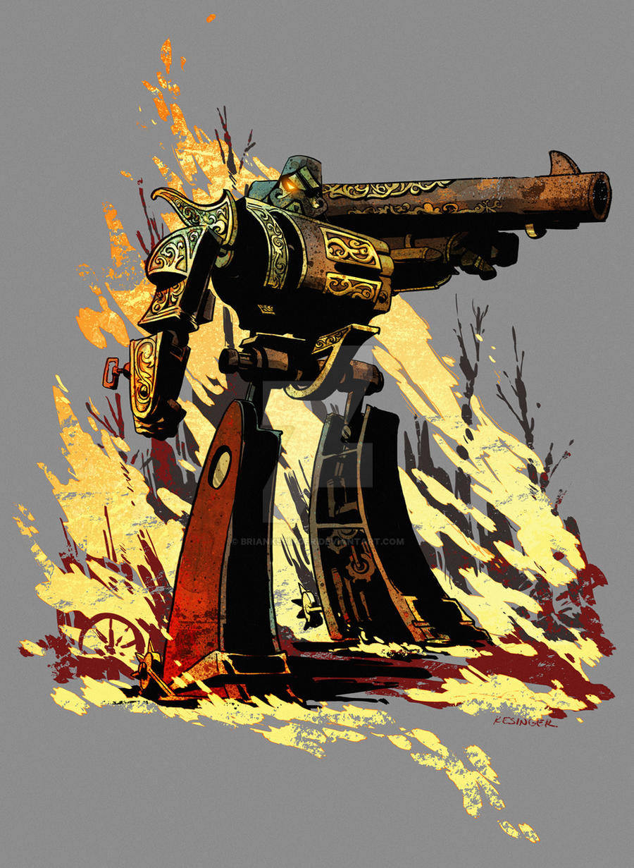 steampunk megatron by BrianKesinger