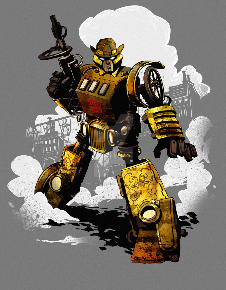 steampunk bumblebee by BrianKesinger