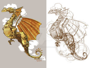 a different type of dragon tattoo