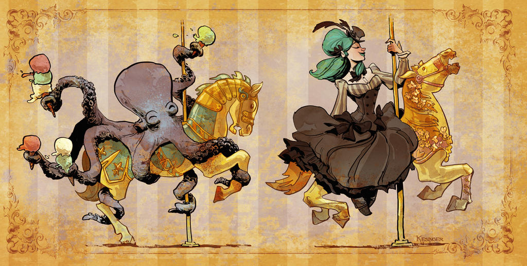Carouselsm by BrianKesinger