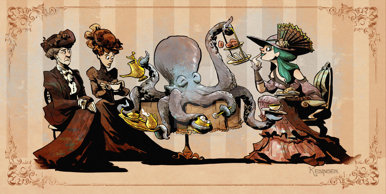 Tea time with otto by BrianKesinger