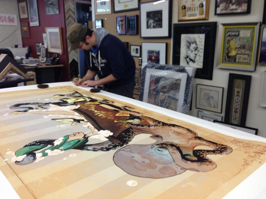 print signing by BrianKesinger