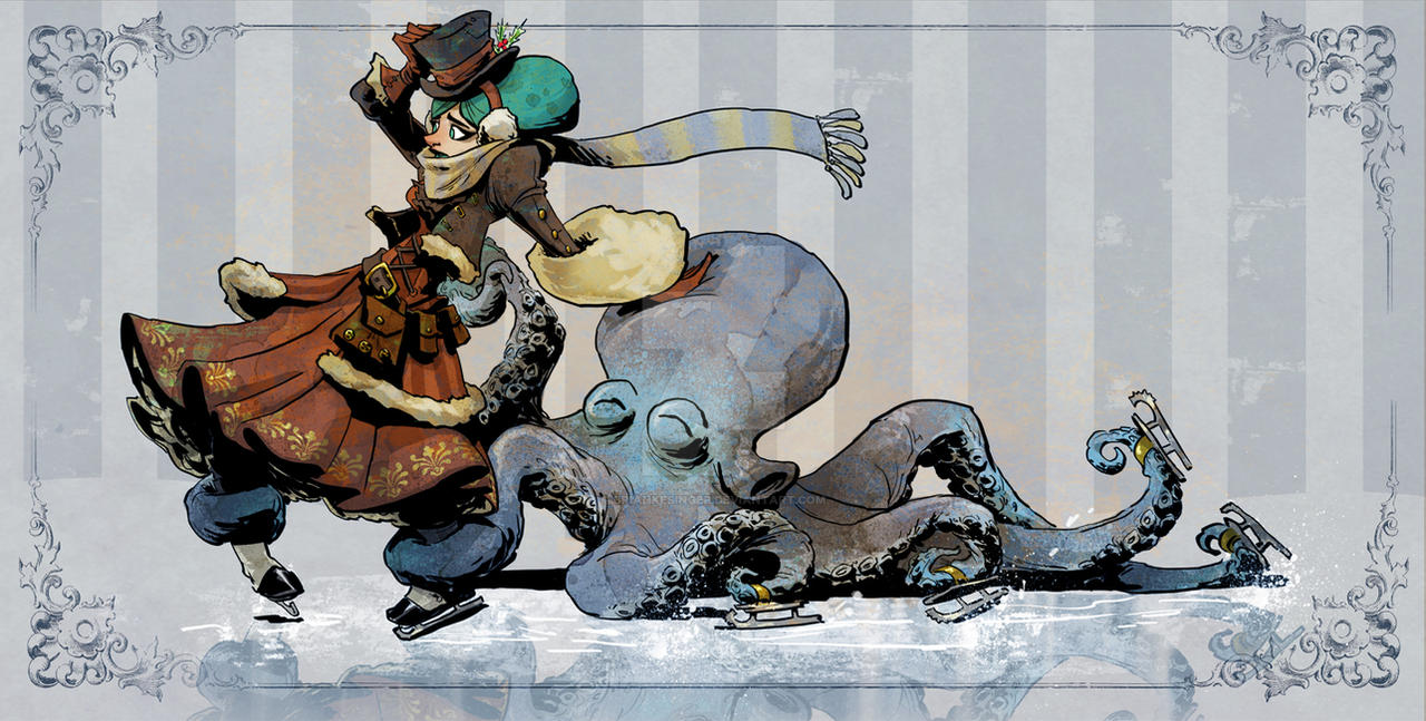 skating with otto by BrianKesinger