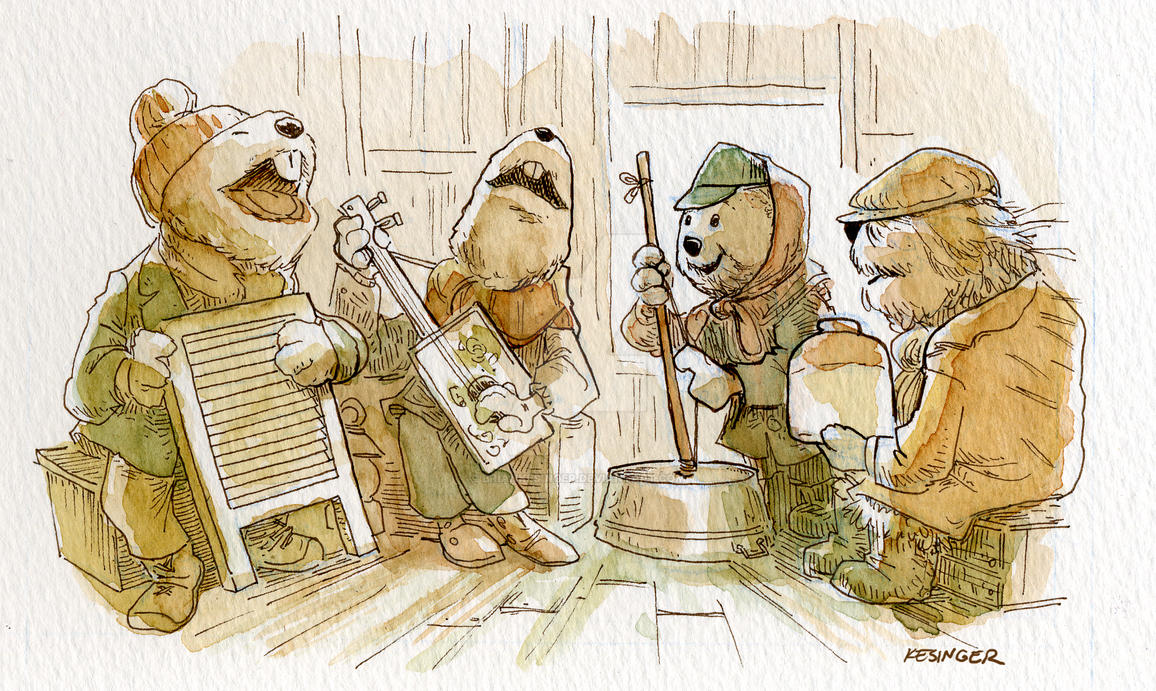 emmit otter\'s jug band christmas by BrianKesinger on DeviantArt