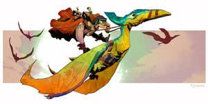 Pteranodon rodeo