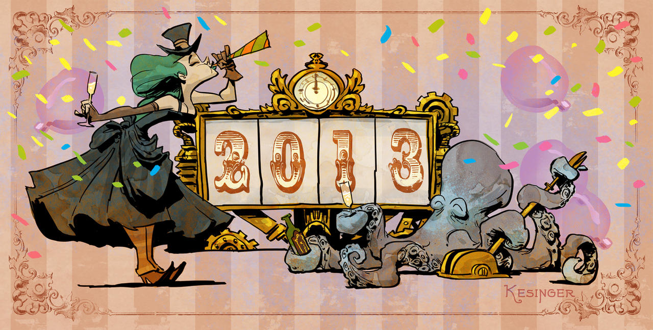 happy new year by BrianKesinger