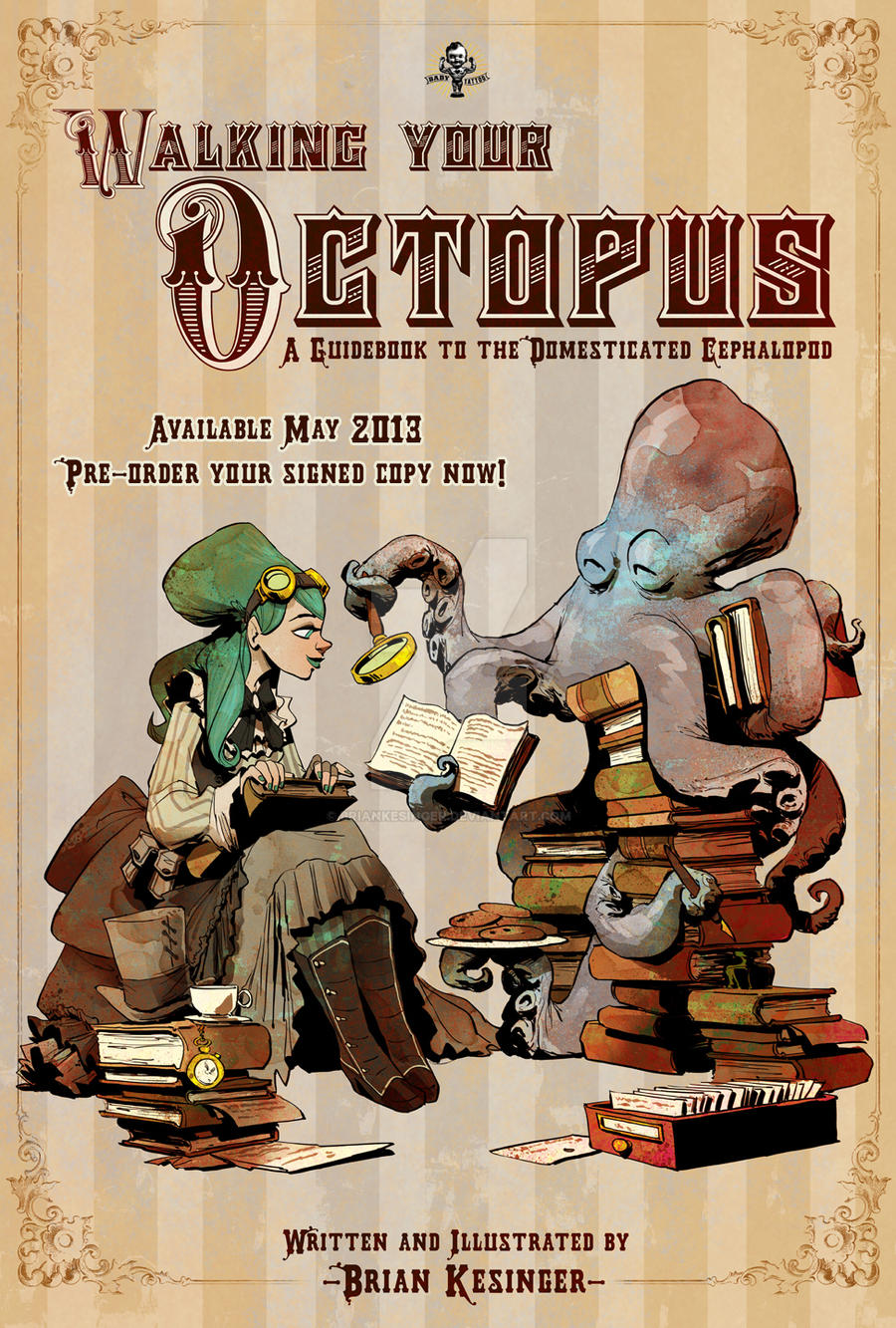 book poster by BrianKesinger