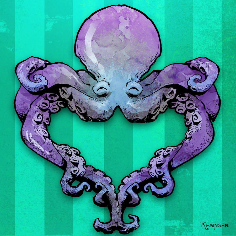 octo love by BrianKesinger