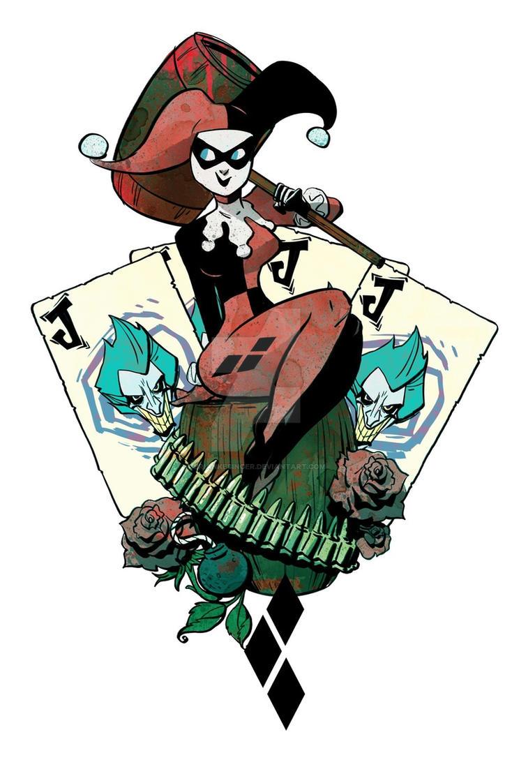 Harley Quinn by BrianKesinger