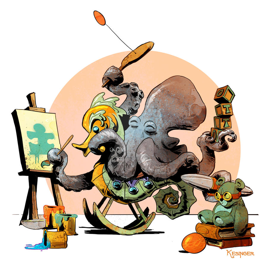 Otto's playroom by BrianKesinger