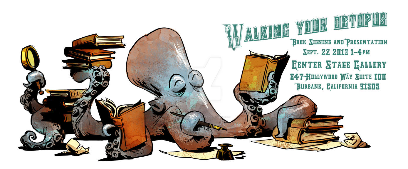 Booksigning by BrianKesinger