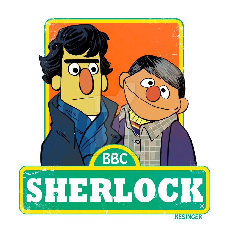 Sherlock of sesame st. by BrianKesinger