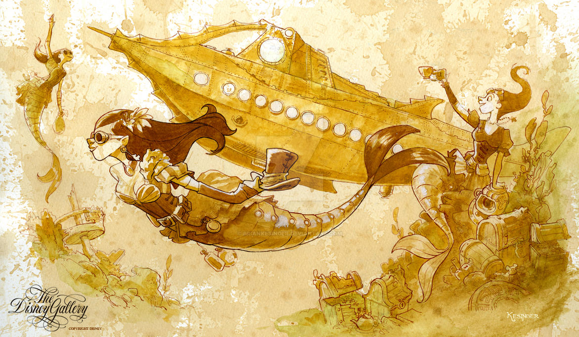 a Journey through liquid aether by BrianKesinger