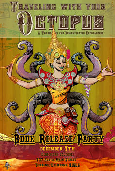 Traveling with your octopus book release party!