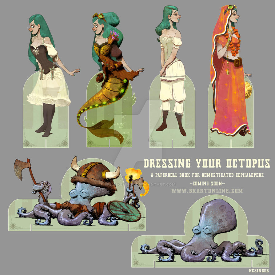 dressing your octopus sneak peek by BrianKesinger