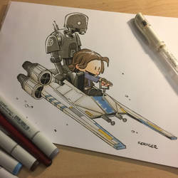 Rogue one/ Calvin and Hobbes mashup by BrianKesinger