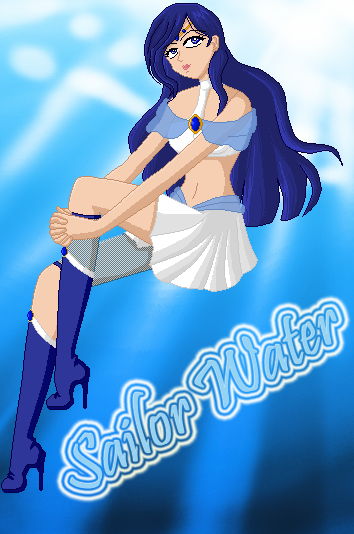 Sailor Water (Almost complete for official intro) by Angel-of-the-Fayth